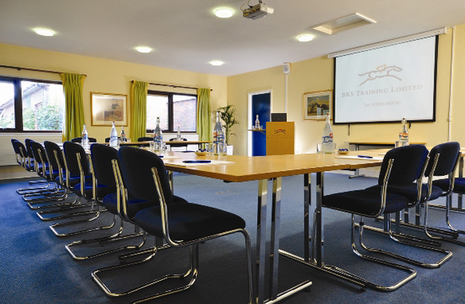 Training room at the British Racing School